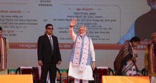 PM Modi launches projects worth over 1,550 crore in Odisha