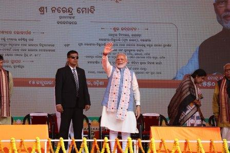 PM Modi launches projects worth over 1,550 crore in Odisha