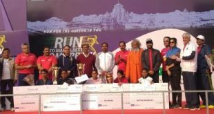 Thousands participate in Tata Steel Bhubaneswar Half Marathon