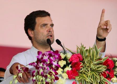 Modi, Naveen snatching tribal land: Rahul