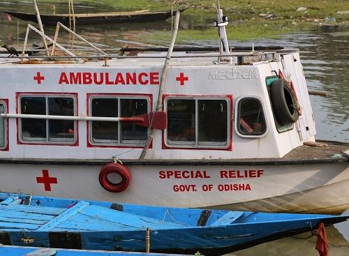 Odisha govt launches boat ambulance