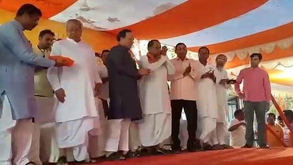 Bhadrak MP Arjun Sethi, Mohan Jena join BJP