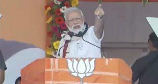 Punish BJD, Congress for failing to develop Odisha: Modi