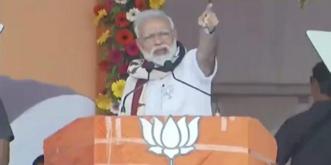 Punish BJD, Congress for failing to develop Odisha: Modi