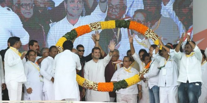 Rahul attacks Naveen, Modi on growing unemployment in Odisha