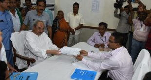 Naveen files nomination for Hinjili constituency in Odisha