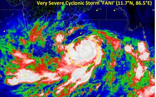 Cyclone Fani likely to hit Odisha coast between Gopalpur-Chandbali