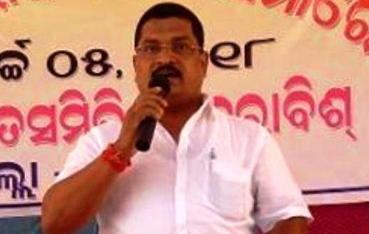 Derabish block Chairman Saroj Sahoo joins BJP
