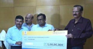 BPCL contributes Rs 5 cr to OSDMA