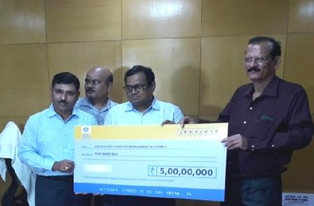 BPCL contributes Rs 5 cr to OSDMA