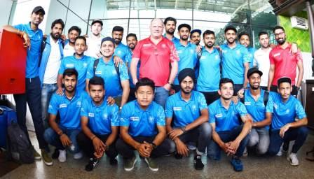 Indian Men's Hockey team joins National Camp in Bhubaneswar