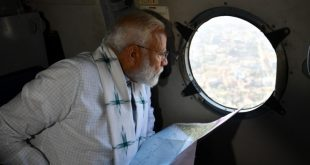 Modi reviews cyclone situation in Odisha