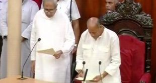 Newly elected Odisha MLAs take oath