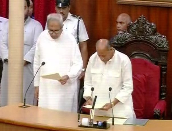 Newly elected Odisha MLAs take oath