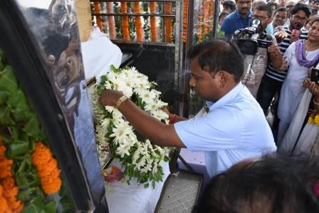 Mortal Remains of Kalpana Dash reaches home