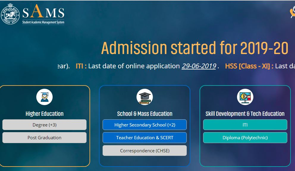 Online application for degree courses to begin on June 24