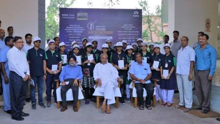 Odisha CM flags off Young Astronomer Talent Search programme