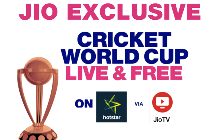 Jio users can watch World Cup matches live for free