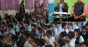 Dhanraj Pillay, Nilesh Kulkarni interact with students in Odisha