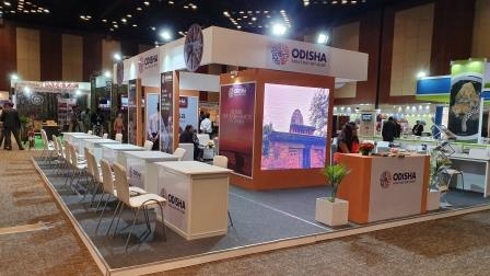 Odisha Tourism bags Excellence Award for best stall decoration at TTF