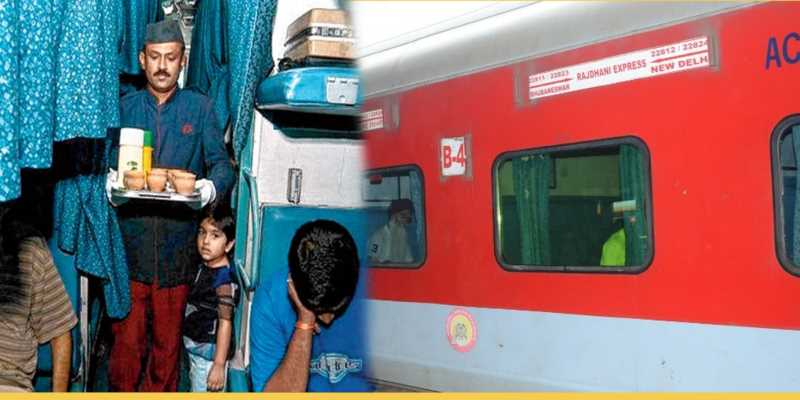 Catering facility in Rajdhani Express will now be optional