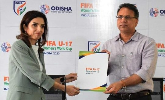 Kalinga Stadium gets provisional nod for FIFA U-17 Women's World Cup 2020