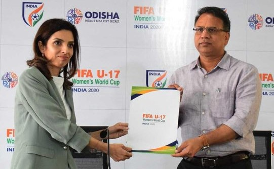 Kalinga Stadium gets provisional nod for FIFA U-17 Women's World Cup 2020