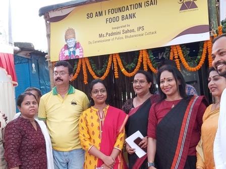 Odisha's first food bank inaugurated in Bhubaneswar