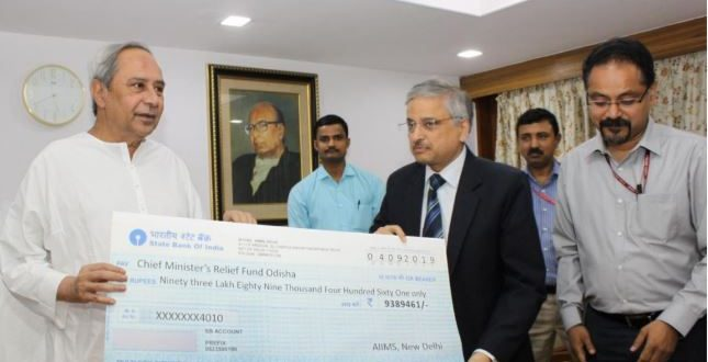 AIIMS-Delhi donates Rs 93.89 lakh as Fani assistance to Odisha