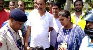 MLA Ananta Narayan Jena fined for illegal parking