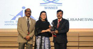 Biju Patnaik International Airport gets Best Airport Award