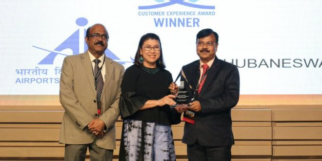 Biju Patnaik International Airport gets Best Airport Award