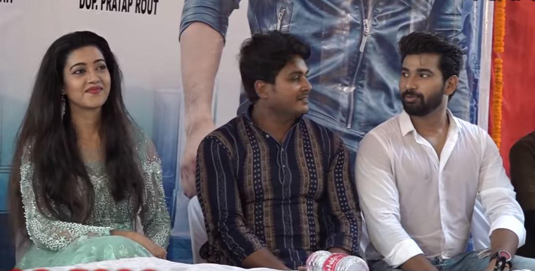 Barsha Priyadarshini in upcoming Odia movie Queen