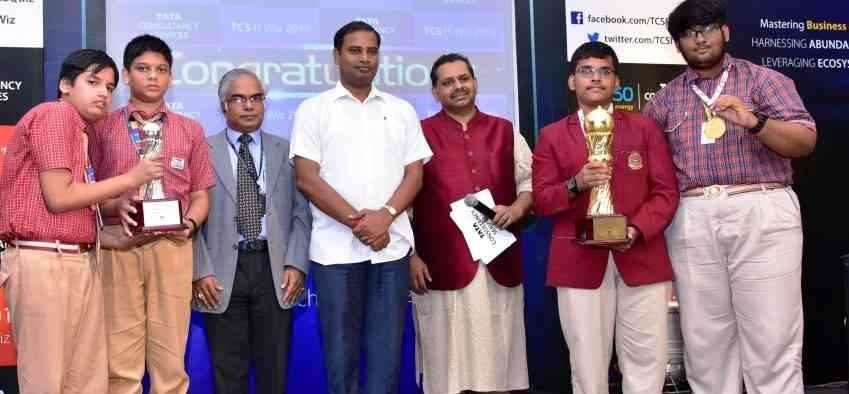 DAV Public School wins Bhubaneswar edition of TCS IT Wiz 2019