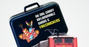 Special drive against carrying Diwali crackers on train