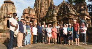 Foreign tour operators on Heritage Walk