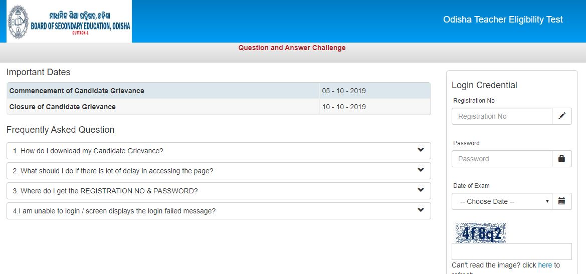 Errors in OTET answer keys bother candidates