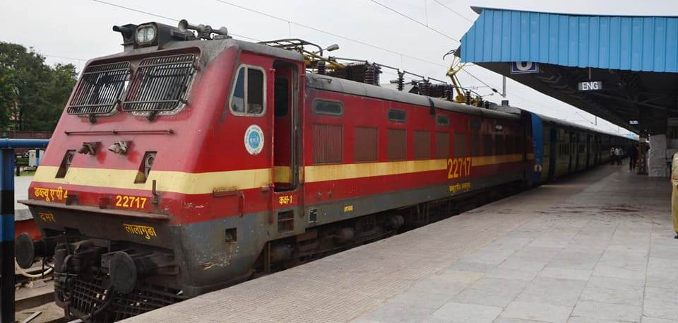Sewa Express train between Bhubaneswar-Nayagarh Town