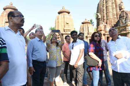 Odisha Travel Bazaar delegates join special heritage walk