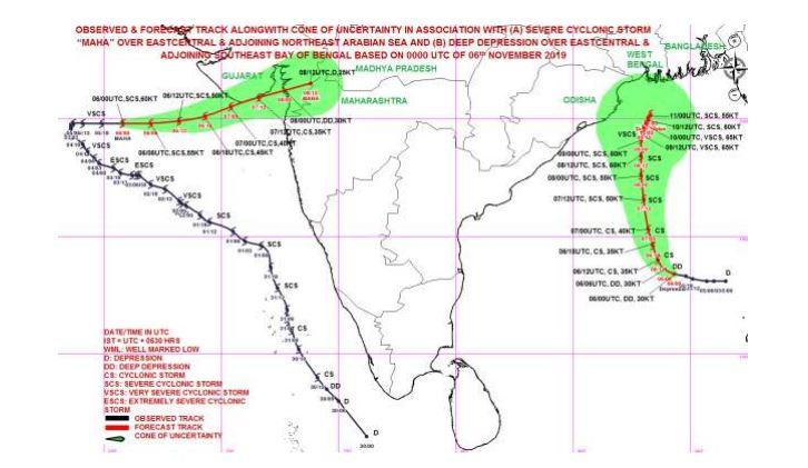 Cyclone Bulbul updates: Odisha to experience rainfall