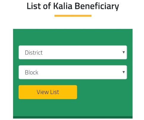 KALIA Yojana second list