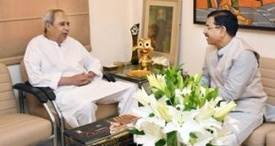 Union Coal and Mines minister Pralhad Joshi meets Naveen Patnaik