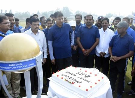 Bureaucrats XI wins Tata Steel Friendship Cup Cricket Tournament