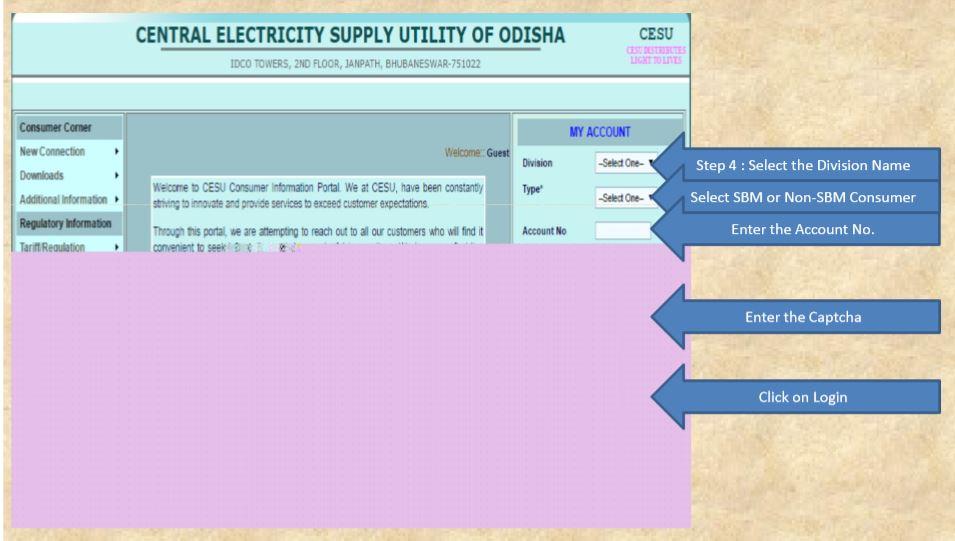 electricity bill payment odisha