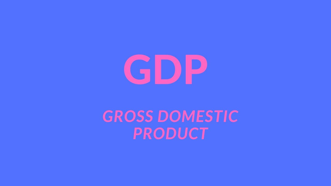 What is GDP full form