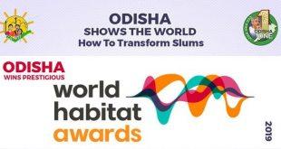 Odisha's Jaga Mission bags Bronze at World Habitat Awards 2019