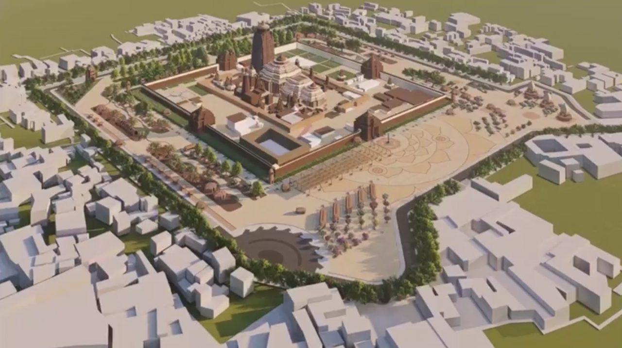 Jagannath Heritage Corridor Architectural Plan