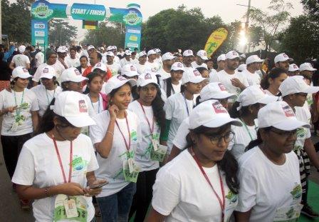 3rd edition SBI Green Marathon