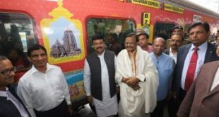 Rajdhani Express showcasing Odisha's rich heritage