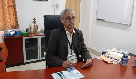 Ramabrahmam joins as VC of Central University of Odisha